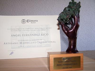 Premio Artesano Madrileño Tradicional